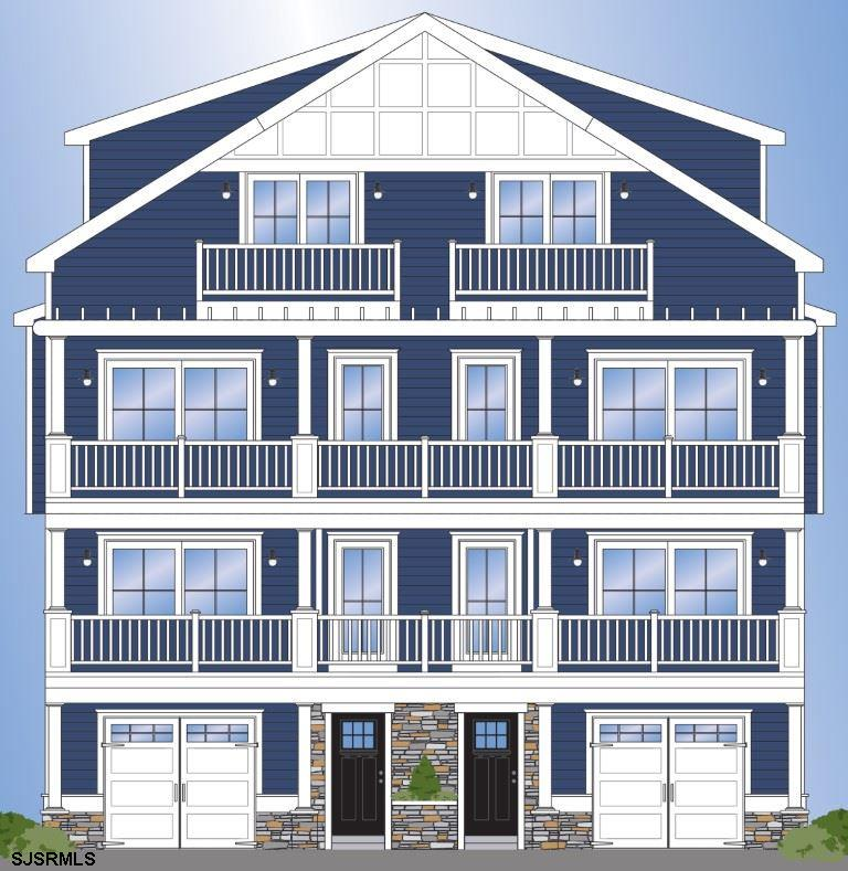 MAGNIFICENT BEACH BLOCK NEW CONSTRUCTION TOWNHOUSE WITH UNOBSTRUCTED OCEAN VIEWS. Fourth house from