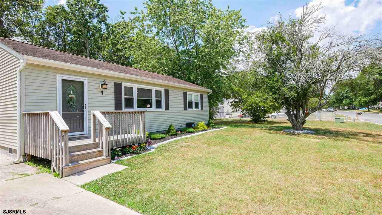 Beautifully remodeled 3 bedroom 1 bathroom home. Hardwood flooring in living room and dining area. B