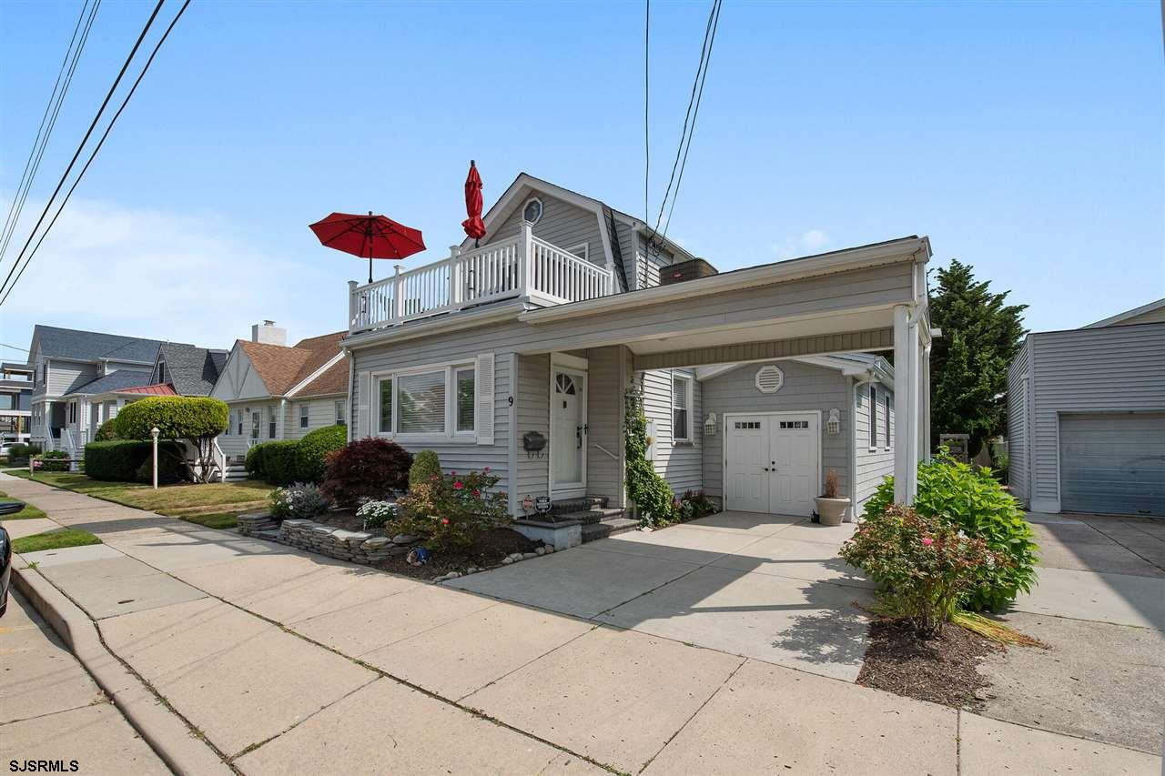 Charming Longport Cottage by the Sea. A wonderful opportunity to own a lovely 3bd, 2.5 bath beach ho
