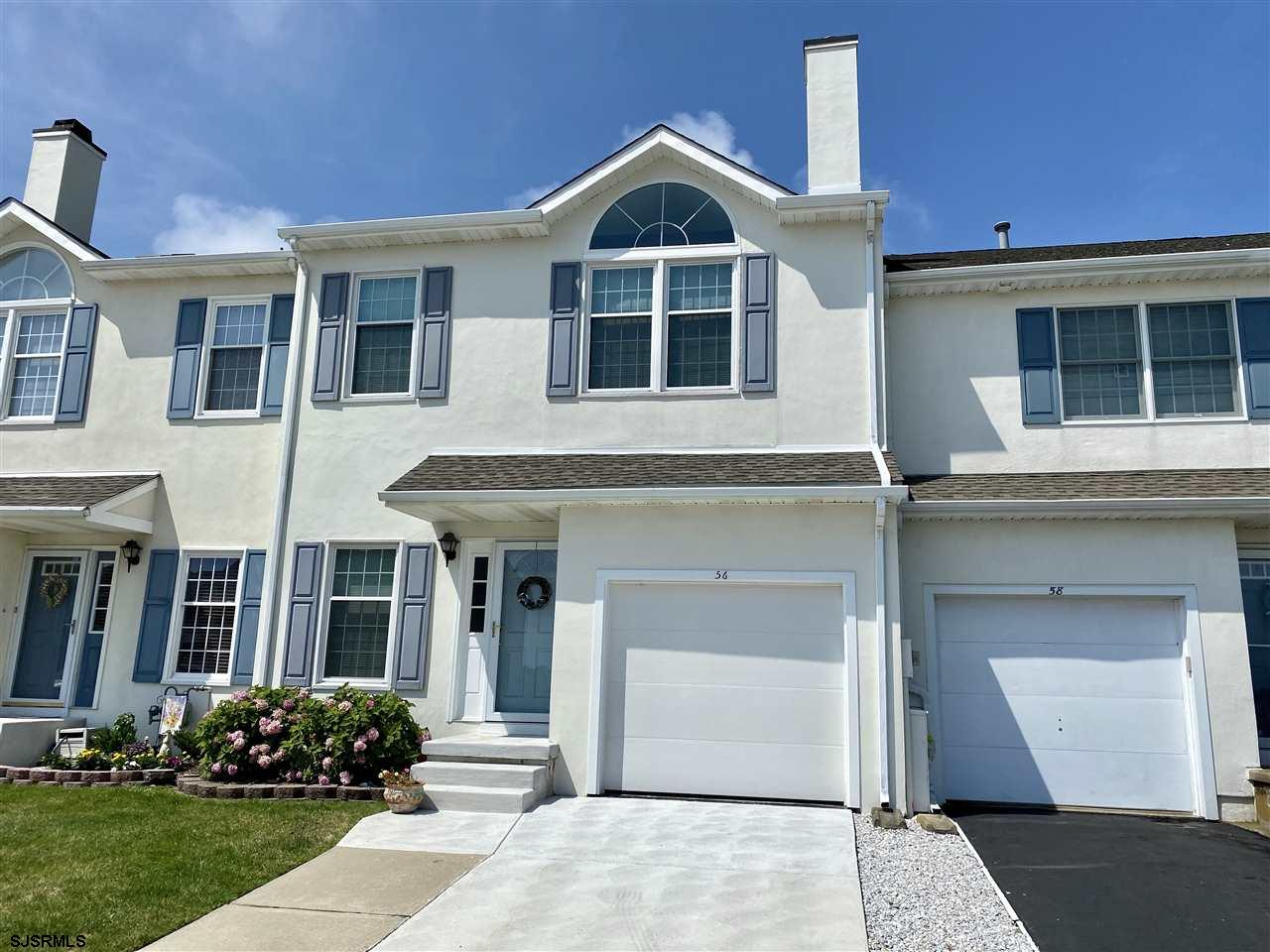 Located on the South End of Brigantine Island in Kings Cove this 3 story townhome has one of the bes