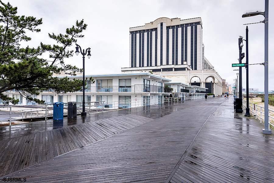 BUY AT THE SHORE! Boardwalk/Beach front studio at the Seashore Club Condominiums. Imported Italian t