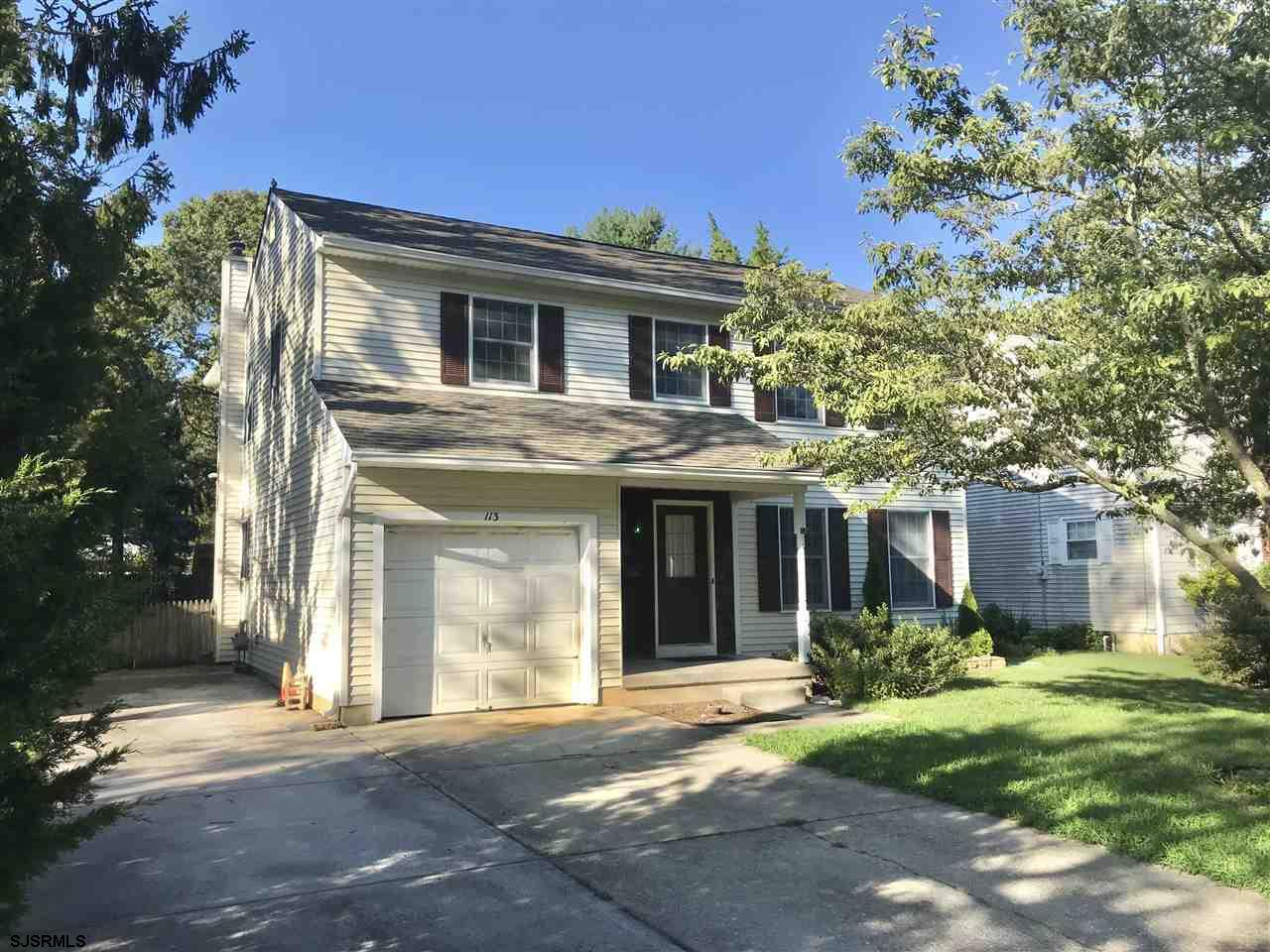 A great opportunity in this crazy GO-GO market to snatch a legit 4 bedroom/2.5 Colonial w/over 2,000 sq.ft including a formal L/R, formal D/R, large Eat-in kitchen, family room w/fireplace, garage & much more. MBR Suite w/private bath and walk-in closet, all 3 other bedrooms nice size, big laundry/utility rm, deck. This home will require a bit of TLC, carpet/flooring, painting, and tad deferred maintenance-but for this price/location...do it yourself and raise a generation in among NF's finest neighborhoods!
