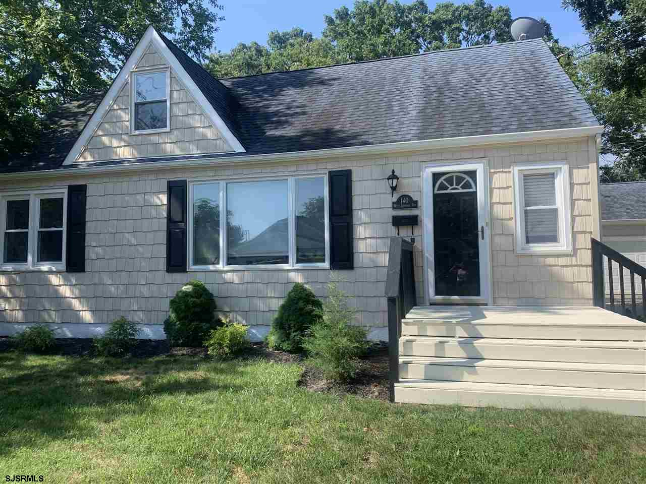 Classic Cape Cod with finished 2nd floor space featuring full designer bath. This highly desirable m