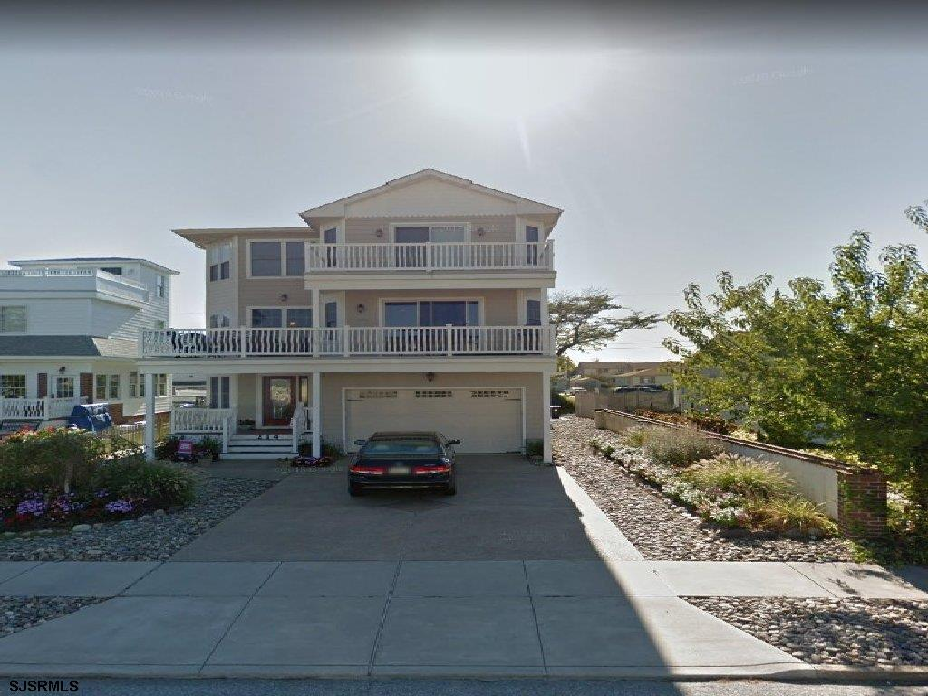 The home is just 1 1/2 blocks to the best section of beach on Brigantine Island and just a block fro