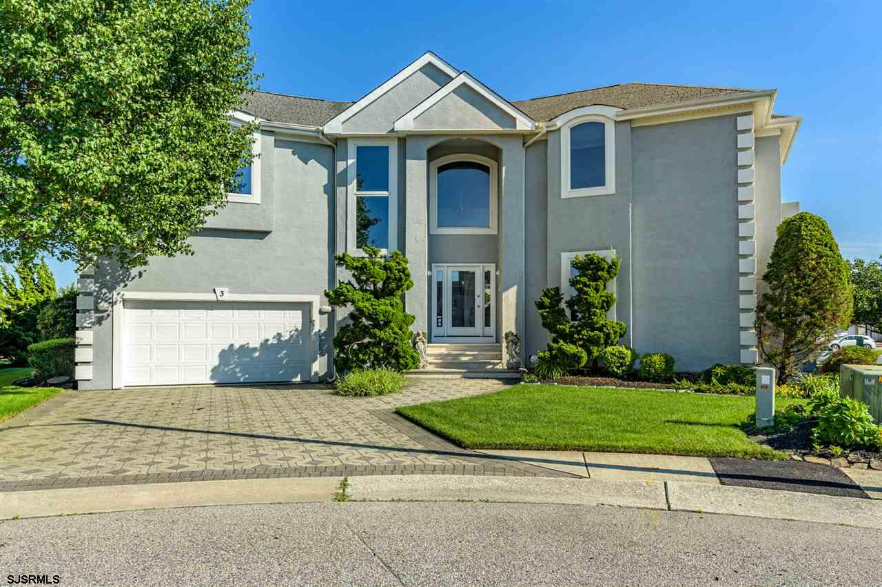 Gorgeous waterfront home is the perfect getaway! Contemporary, one of a  kind, move in ready and wai