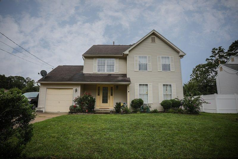 Welcome home to this 4 BR, 2.5 Bath two story home in Egg Harbor Township. This home checks all the