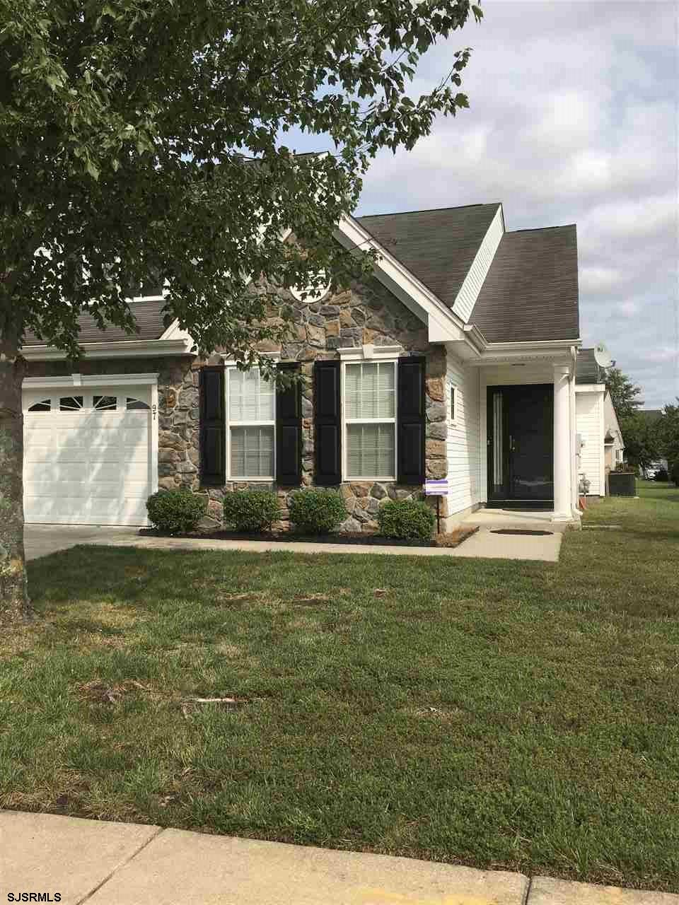 Welcome to this immaculate home located in the very desirable Tavistock Adult Community. There are beautiful hardwood floors throughout, the kitchen has newer appliances and upgraded countertops. There is a large living room and dining room combination and a sun room which overlooks the backyard. The master BD is a nice size and has a large walk in closet. There is also a 2nd BD with a full bath on the 1st floor. Upstairs has a large 3rd BD/loft and a huge walk in closet. This will not last long, and easy to show! HOA includes lawn mowing, snow removal and use of the clubhouse.