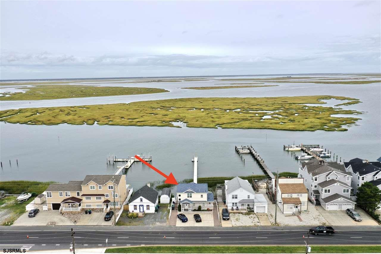 Brigantine Bayfront Buy! Million Dollar Views for a fraction of the price! 3 bedrooms and 2 1/2 bath