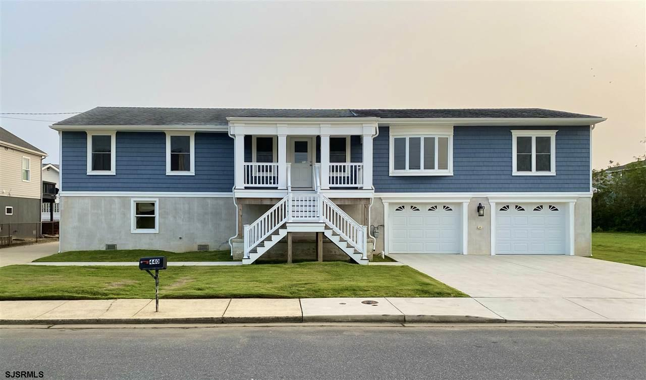 Recently renovated in 2019 and lifted with an ELEVATOR!! This beautiful Brigantine home features 4 b