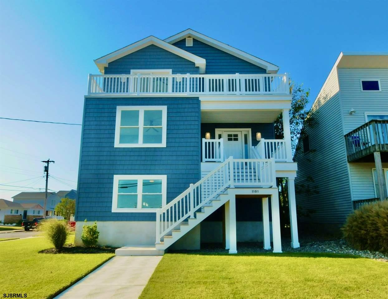 NEW CONSTRUCTION 5 BEDROOM & 4 BATH HOME WITH WATER VIEWS!  Great location with bay views, ocean vie
