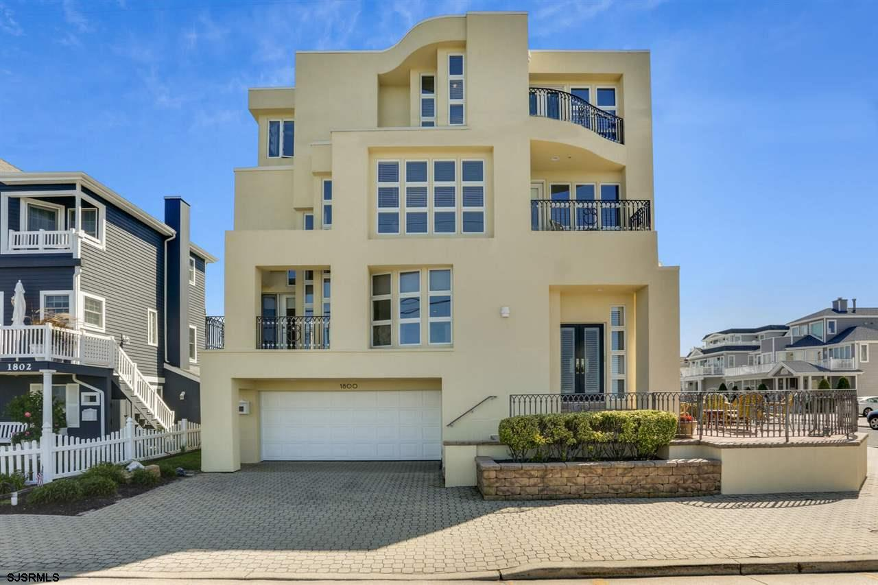 A truly unique home that's anything but cookie cutter, this Longport residence offers grand proporti