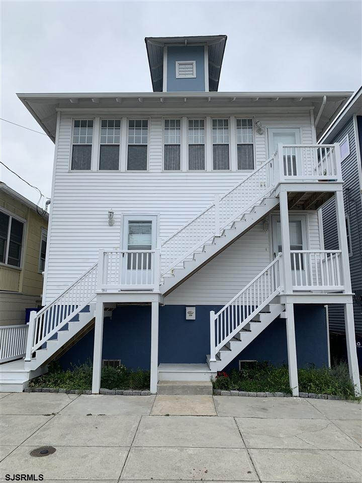 Relax & Enjoy your summer in this freshly decorated 2 Bedroom , 1 Bath apartment on the second floor . Bunk Beds with full, twin and a pull out trundle bed in one room . Master has a Queen size Bed w/ TV .Unit Accommodates sleeping for 8 . Pets allowed with restriction's .  Located 3 1/2 Blocks to beach , boardwalk and all the great shopping and restaurants in Ventnor  . Central Air , Exterior shower . On street parking .Linens not included .  Utilities included. $100.00 cleaning fee The shore summers rent out fast so have your family set for 2021