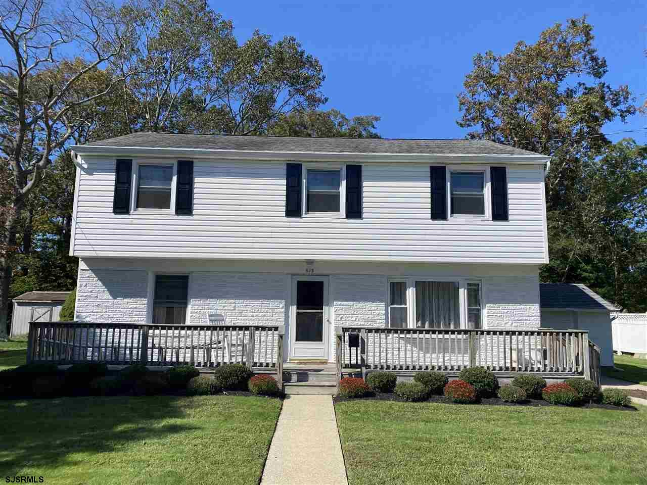Welcome to an extraordinary home close to downtown Absecon.  The oversized front to back 'Split leve