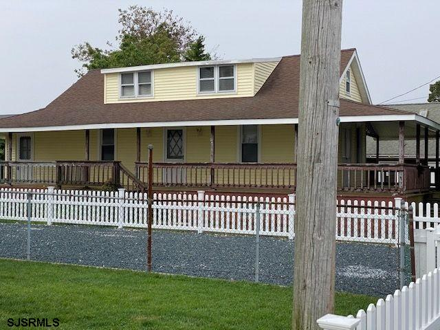 Welcome Home to the Best kept secret in Somers Point! This quaint cottage has a huge wrap around por