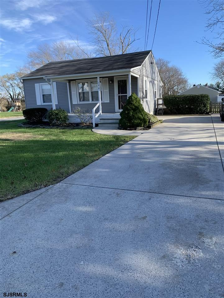 Sought after Egg Harbor Township location !!! Move right into this very well maintained 2 bedroom home , Eat in Kitchen , Laundry room , attic for storage,  140 x 183.50 corner lot with possible minor subdivision into 2 lots, will need variance.   Home interior and exterior was remodeled in 2003 , including windows, roof ,siding , heat & AC.  Possibilities to expand , create a yard Oasis  .  Minutes drive away from everything, Shopping , beaches ,boardwalks, restaurants.