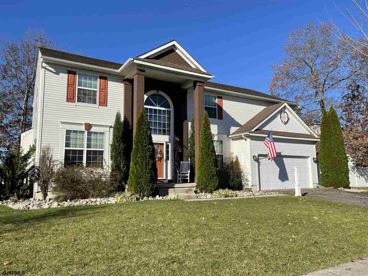 ABSOLUTELY STUNNING!  Move right into this meticulous beauty situated on a fenced corner lot w/ matu