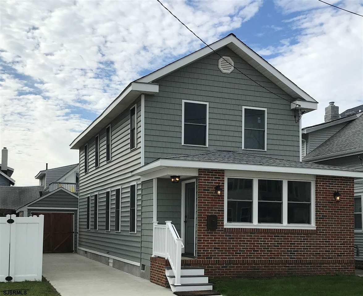 Beautifully renovated and appointed 3 bedroom 2 bath single family home. Located in Ventnor City. Co