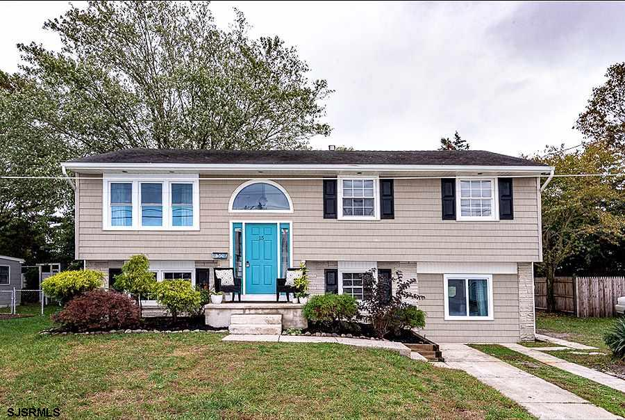 One of the most gorgeous homes in Somers Point! Come see this beautifully renovated split level home