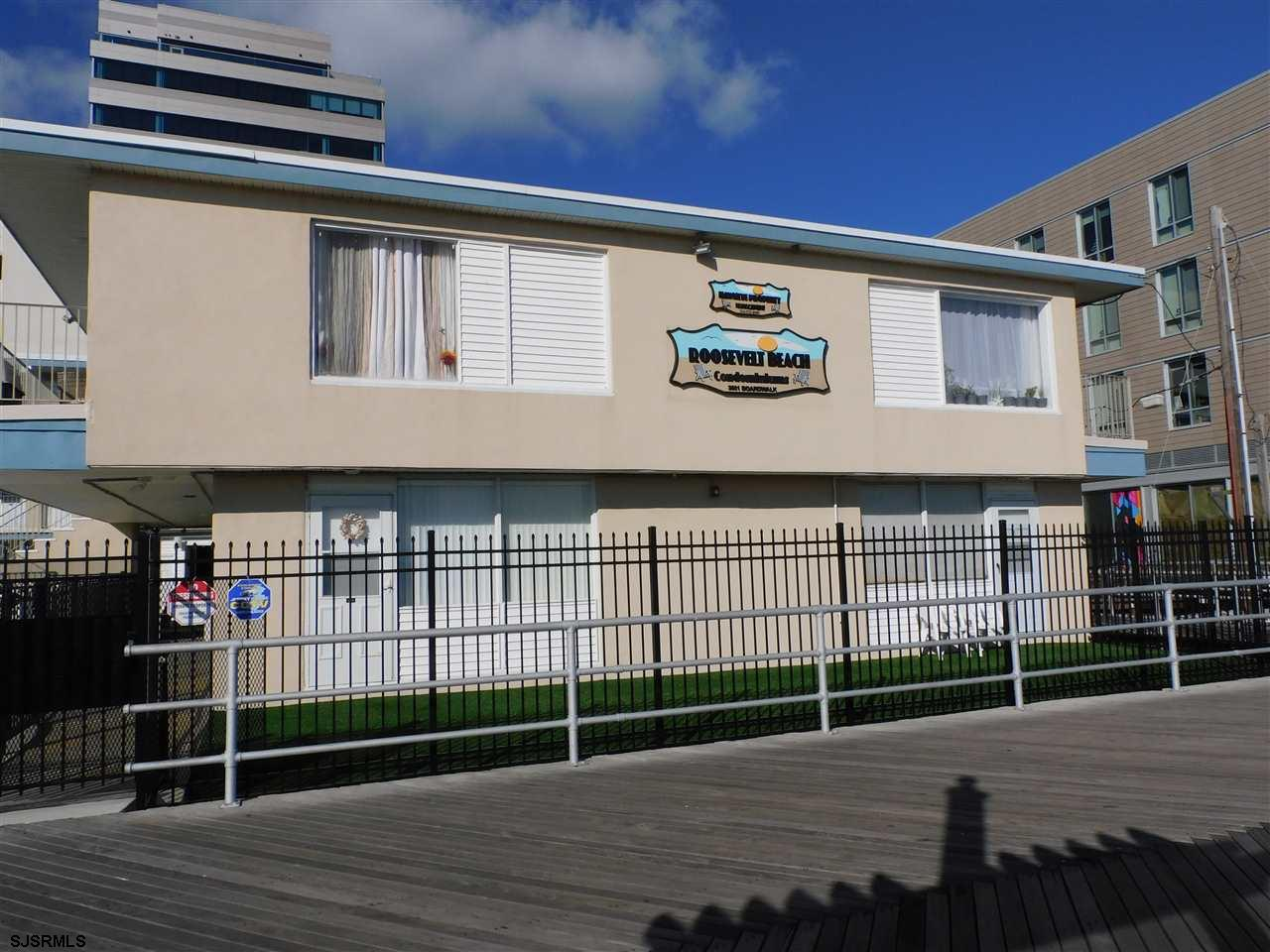 This one-bedroom condo overlooks the beach and the condo pool from the 2nd floor. The unit needs a l