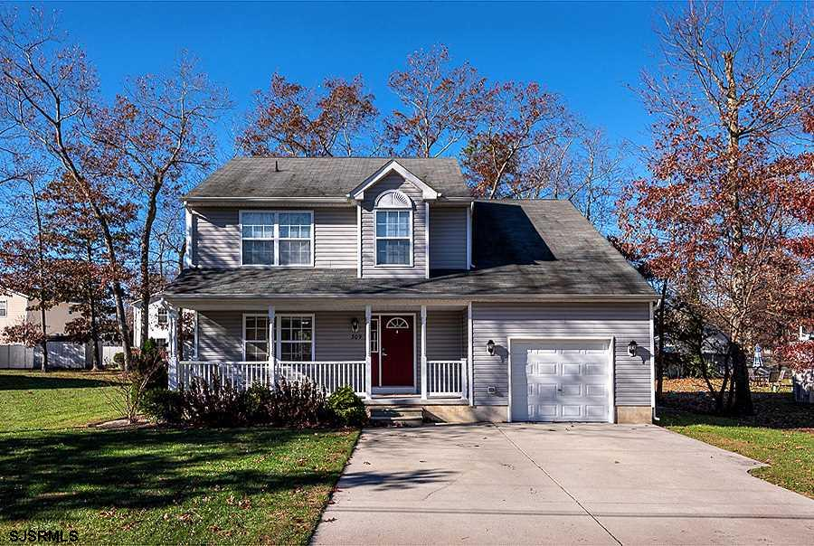 Spacious two-story home located in the Pinehurst neighborhood of Galloway Township. As you enter in