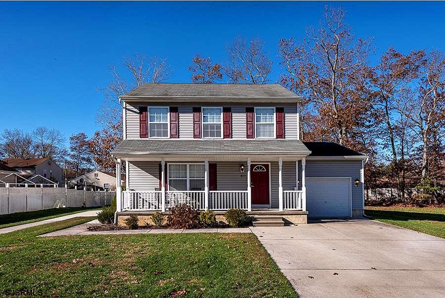 Beautiful, spacious two-story home located in the Pinehurst section of Galloway Township. As you ent
