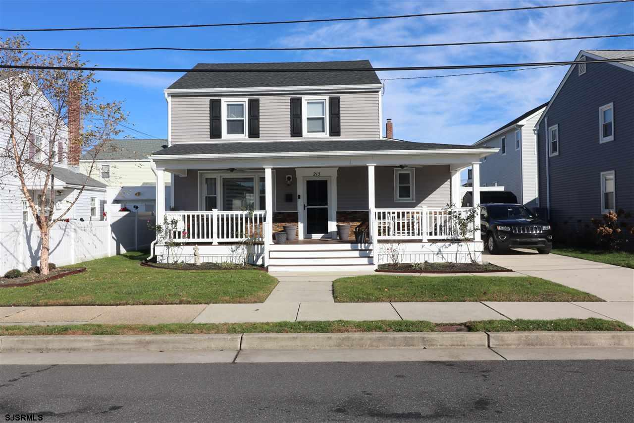 Picture Perfect 3BR, 2BA, two story home on lovely Margate street! Recently updated throughout with