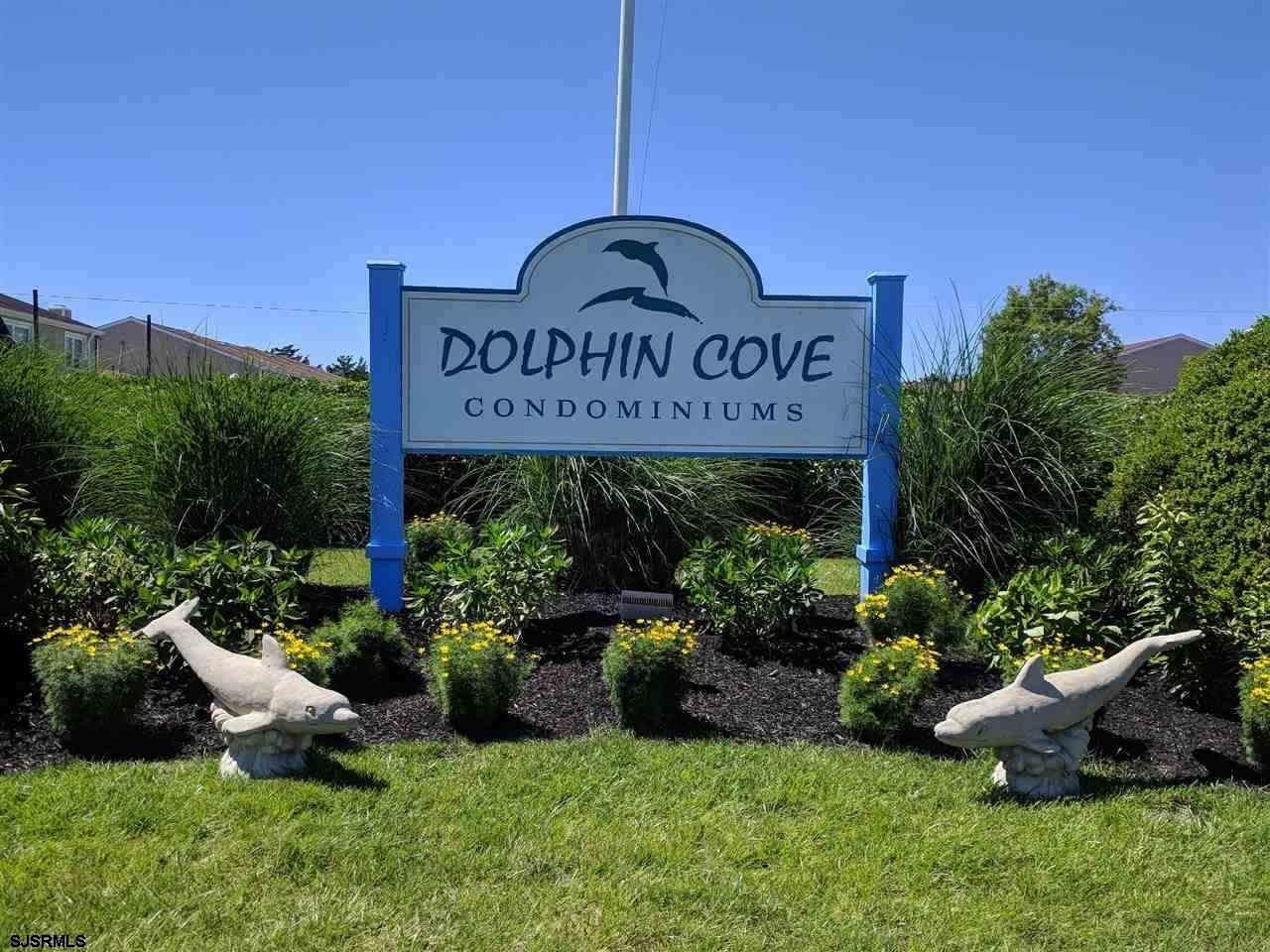 Dolphin Cove is located at the South end of Brigantine. This is a low cost condominium complex. Many