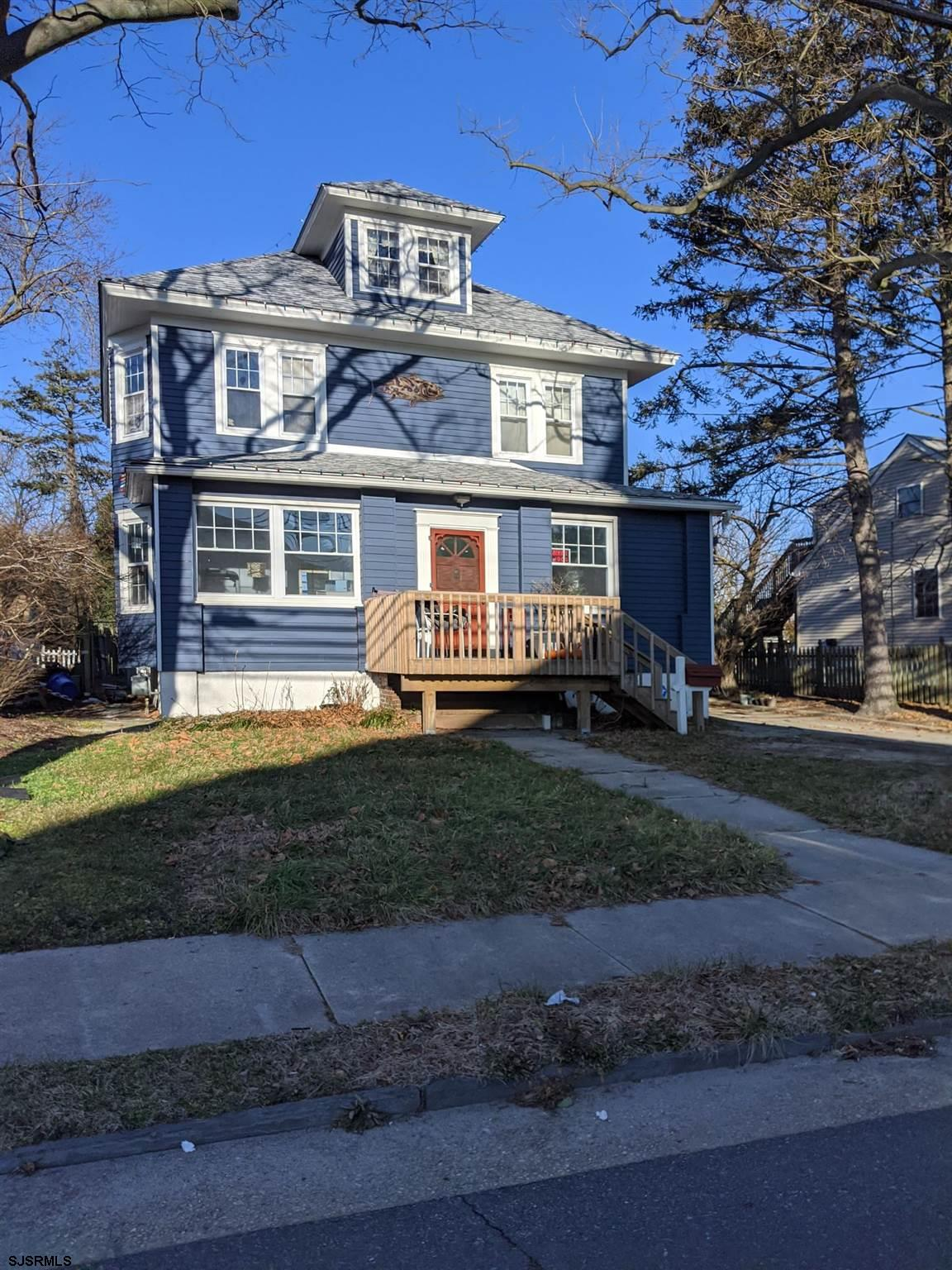 One of a kind opportunity to own a Single family home in desirable Somers Point featuring 4 bedrooms