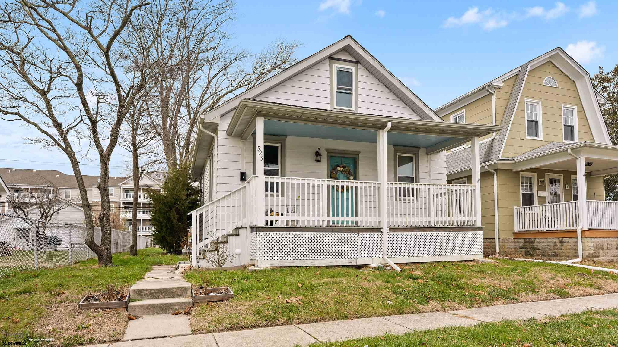Cozy Rancher nestled into a quiet street in Egg Harbor City. This 2 Bedroom, 1 Full Bathroom home fe