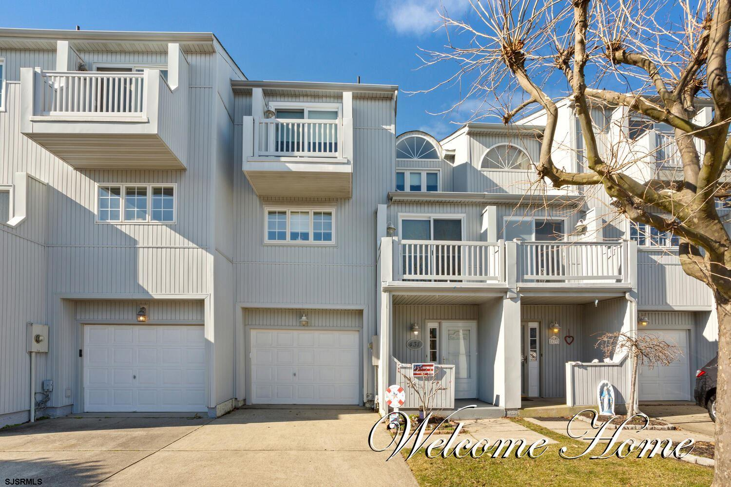 New on Market! Rare Moorings fee simple townhouse with 3 bedrooms/ 2.5 baths. This town home feature