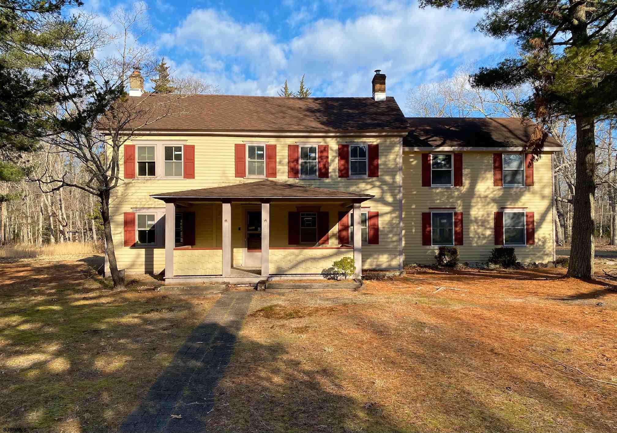 Restore to it's Original Beauty! Built in 1835, this three bedroom, one and half bath, colonial home