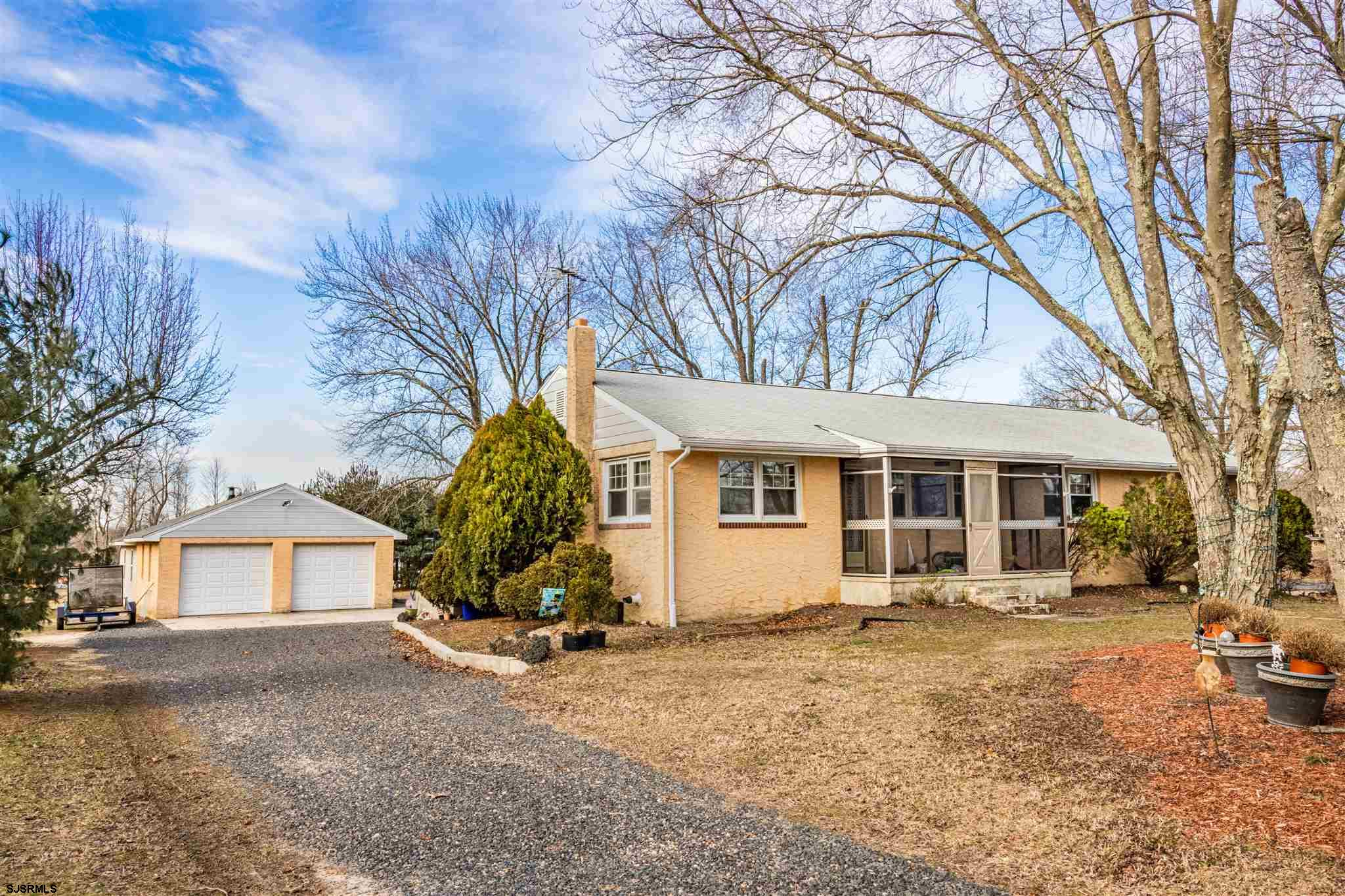 Experience the unexpected at 202 S. 2nd Road in Hammonton. Big rancher with 5 bedrooms and a full ba