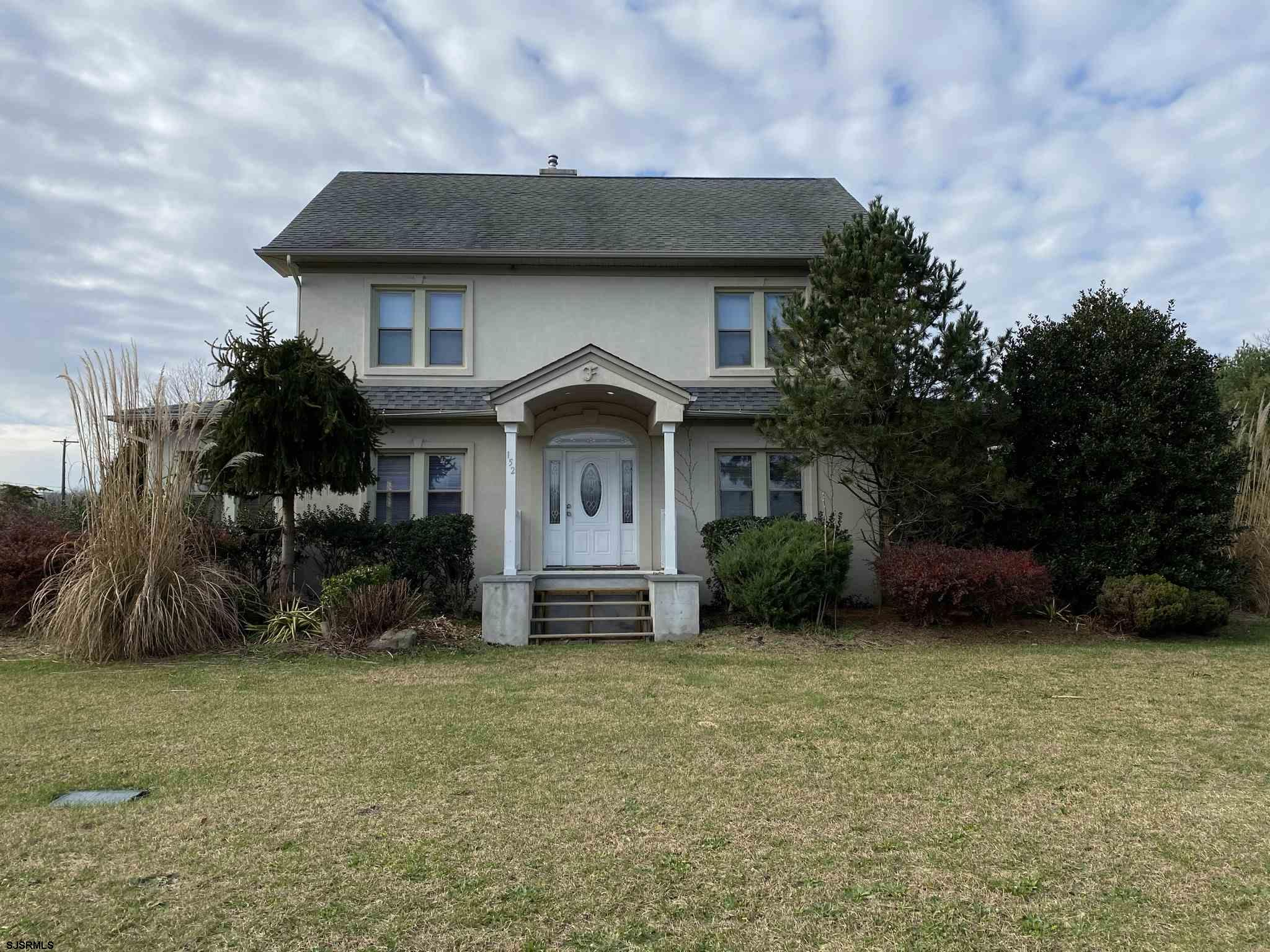 Come see this 2 bedroom, 2 full bath home located on a .65 acre corner lot.  This home offers a livi