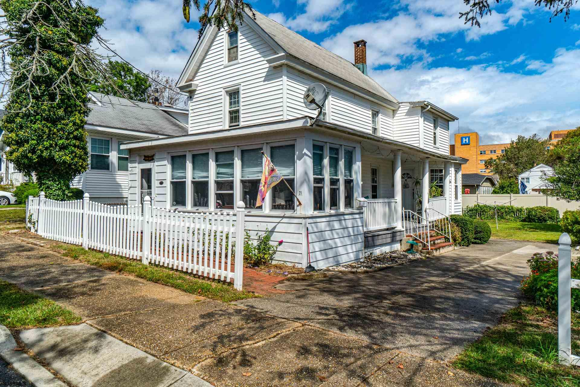 Close to the beach and bay! This charming 3 bedroom, 2 bath, 2-story home is loaded with character.
