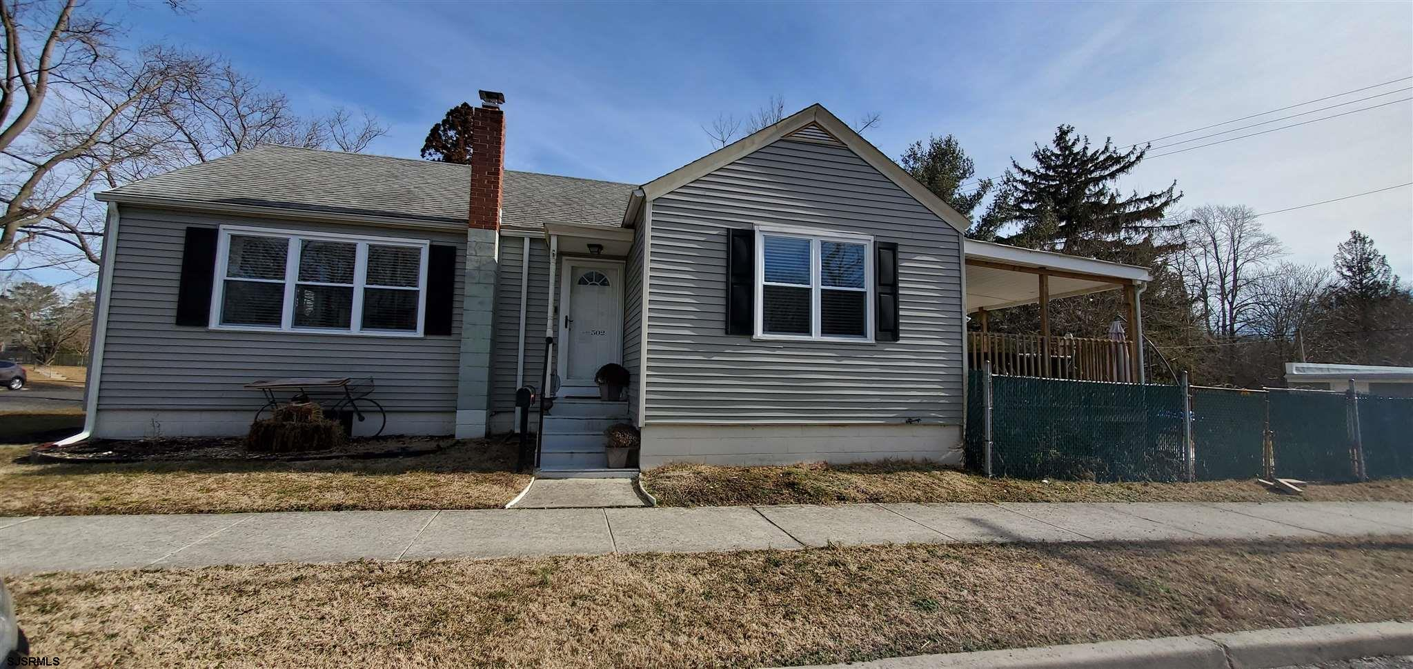 Beautiful recently renovated 2 bedroom home with a lovely fenced yard in a quiet neighborhood! Comes