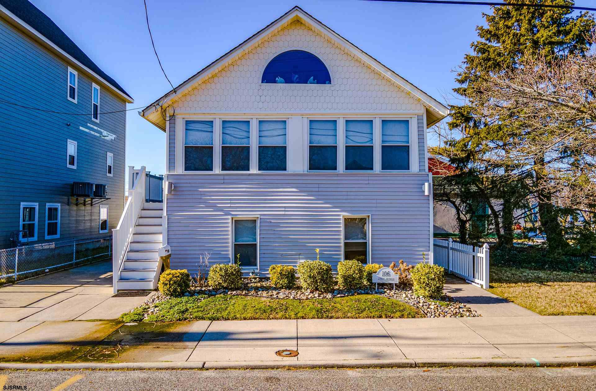 Location and Bay Views! This unique property sots in the heart of the Somers Point Bay Area. This 4