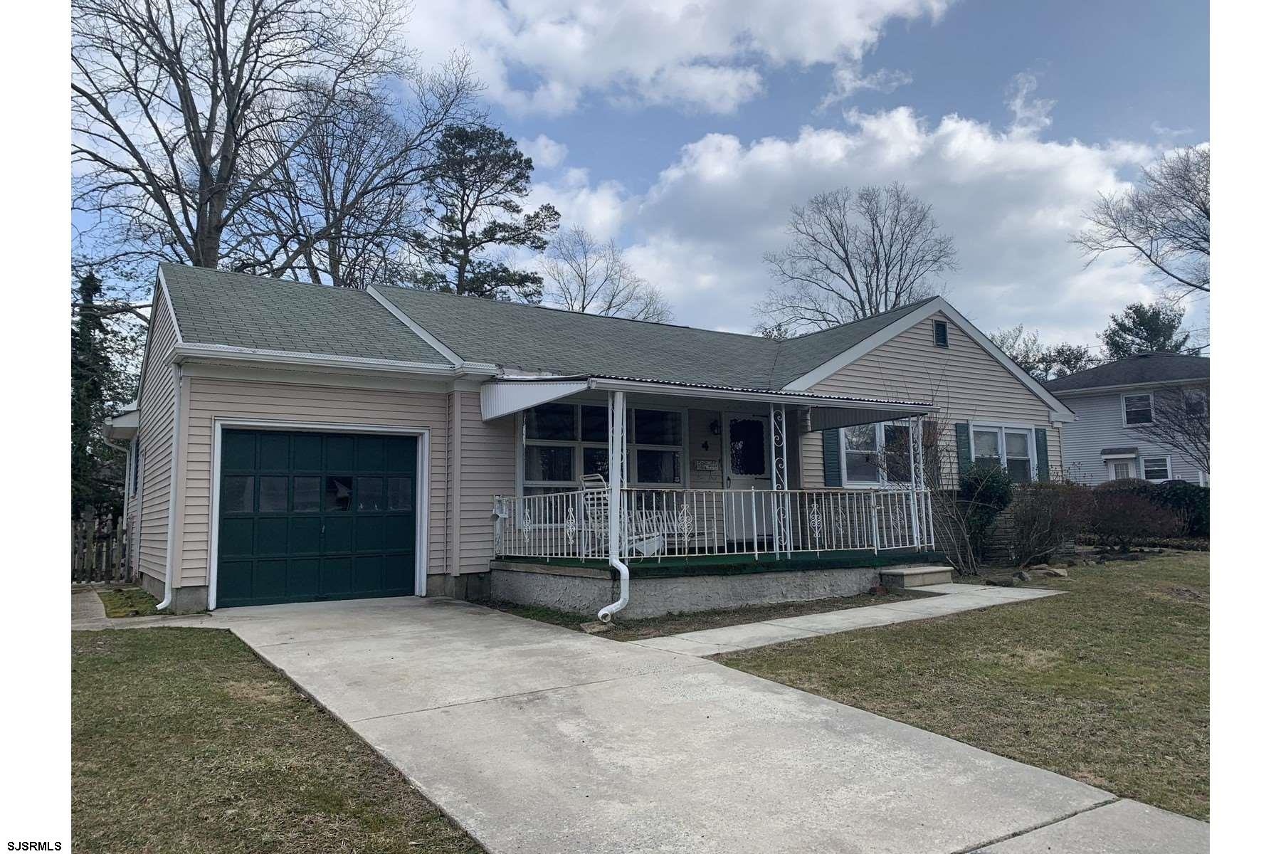 Ranch style home located in the heart of the popular FAIRWAYS SECTION in Somers Point. This home is