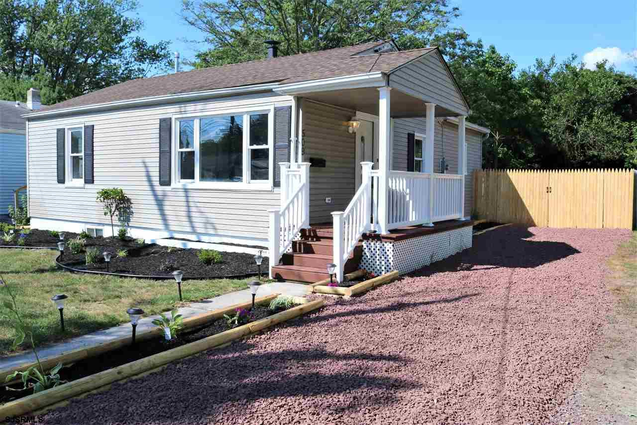 Look no further, this 3BD 2 full bath rancher has been gutted to the studs, new electrical, plumbing, HVAC, newer HWH, beautiful EIK w/granite countertops, tiled backsplash and SS appliances. Both bathrooms have also been beautifully redone along with a finished basement for additional living space. Outside features a large yard completely fenced in. Great location, close to public transportation, restaurants, shopping and a short distance to the bike path. Nothing to do but move in.Showings are on Fridays and Saturday's only from 11 to 4pm.