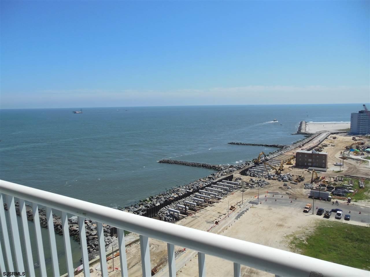 Incredible Ocean Views! Beautiful location , direct ocean front views from inside and from the spacious balcony of this 17th floor unit.  Property is in excellent condition , marble bathroom.. The condo fee basically covers everything . This is a rare opportunity to own in this building .