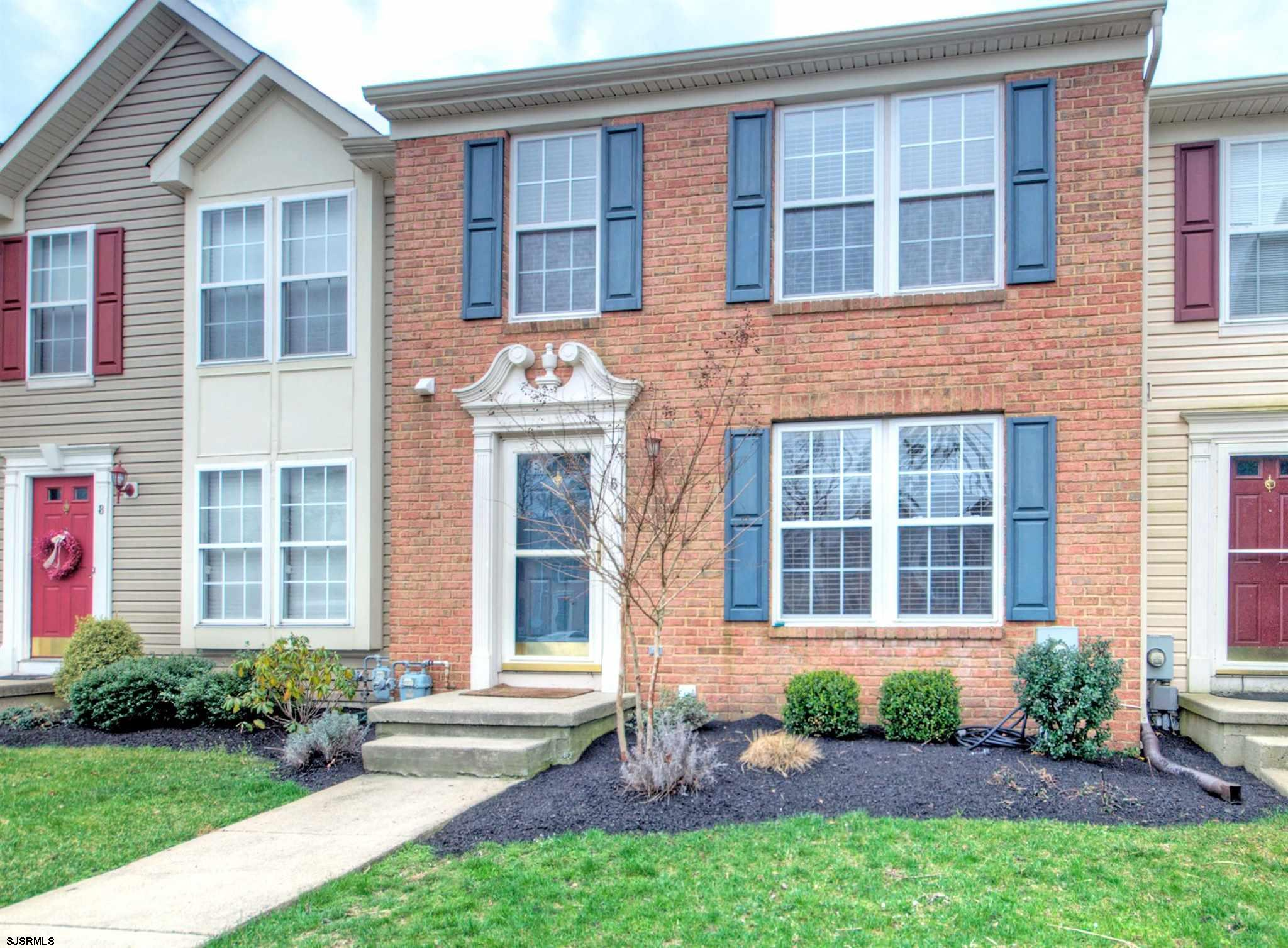 ***NO MORE SHOWINGS PER SELLERS REQUEST MULTIPLE OFFERS***Victoria Crossing Beauty! Welcome home to this spacious 3 story townhome featuring 3 bedrooms and 2 1/2 bathrooms.  As you enter the home you will notice hardwood flooring and a spacious living/family room. The kitchen offers a full appliance package, center island with room for bar stools and new vinyl plank flooring!  There is an additional sun room that features a slider to your own private deck that backs up to the woods for privacy.  The first level also features a half bathroom.  The second level features all 3 bedrooms and a full bathroom in hallway and an extra large master bathroom featuring double sinks, stand up shower and a corner soaking tub.  The lower basement level fe