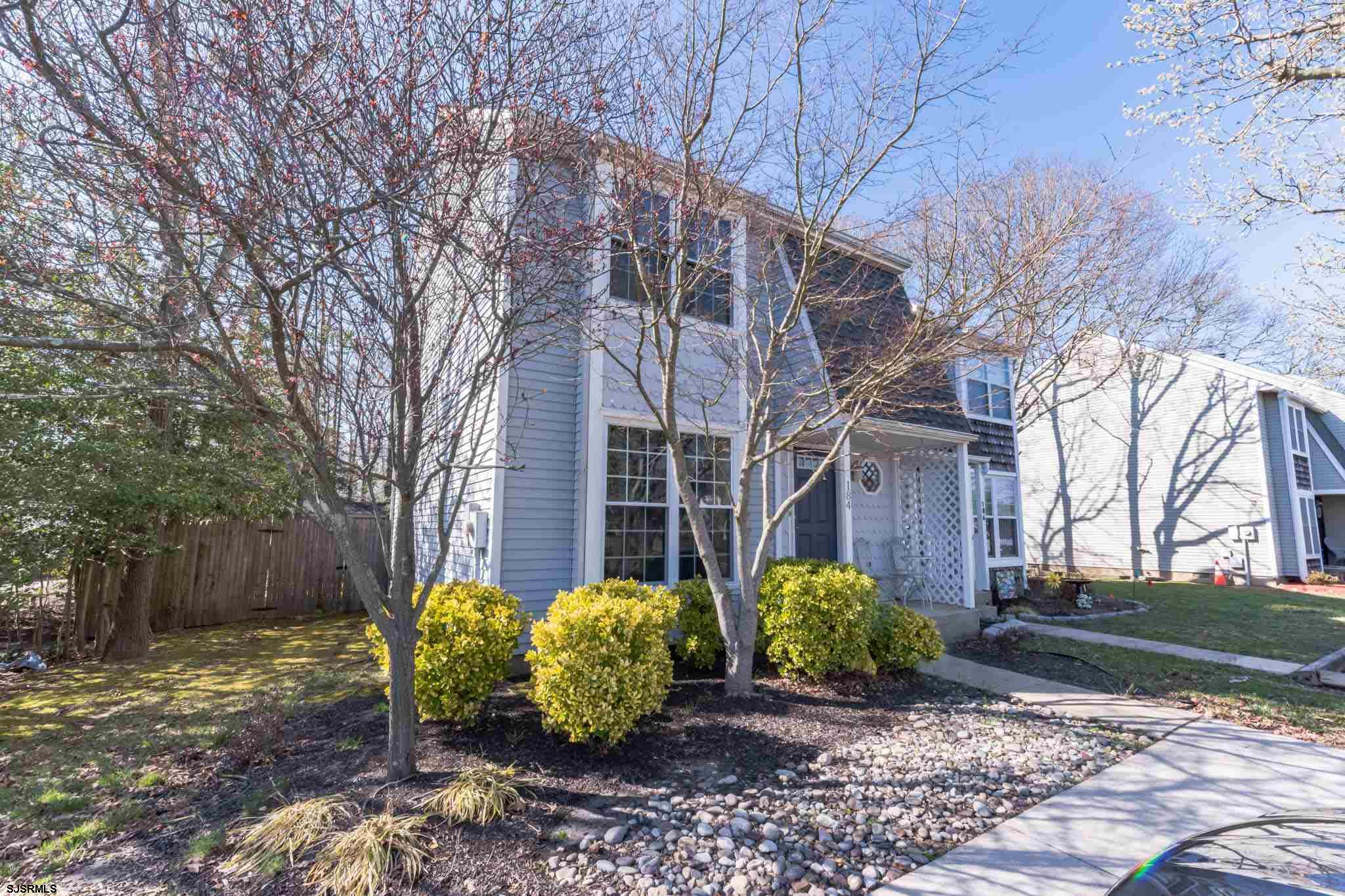 Meticulously maintained two story townhome tucked away in desirable Somers Point.  Everything under