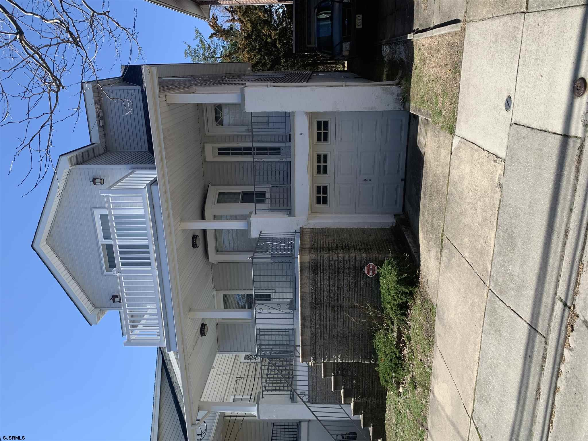 2.5 Blocks to Beach and Boardwalk !!!   This duplex offers a very spacious First floor , 2 Bedrooms,Large living & Dining room . Front Porch for your relaxing . 31 x 150 lot .A Very large yard that is ready for your imagination and creativeness . Second floor is owners unit . Completely remodeled open floor plan . 2 bedrooms, 2 baths, Front and back decks.  Each unit has separate gas and electric & Tank less  water heater.  First floor is rented with a yearly tenant  Are you  Ready to enjoy your time at the shore !!!