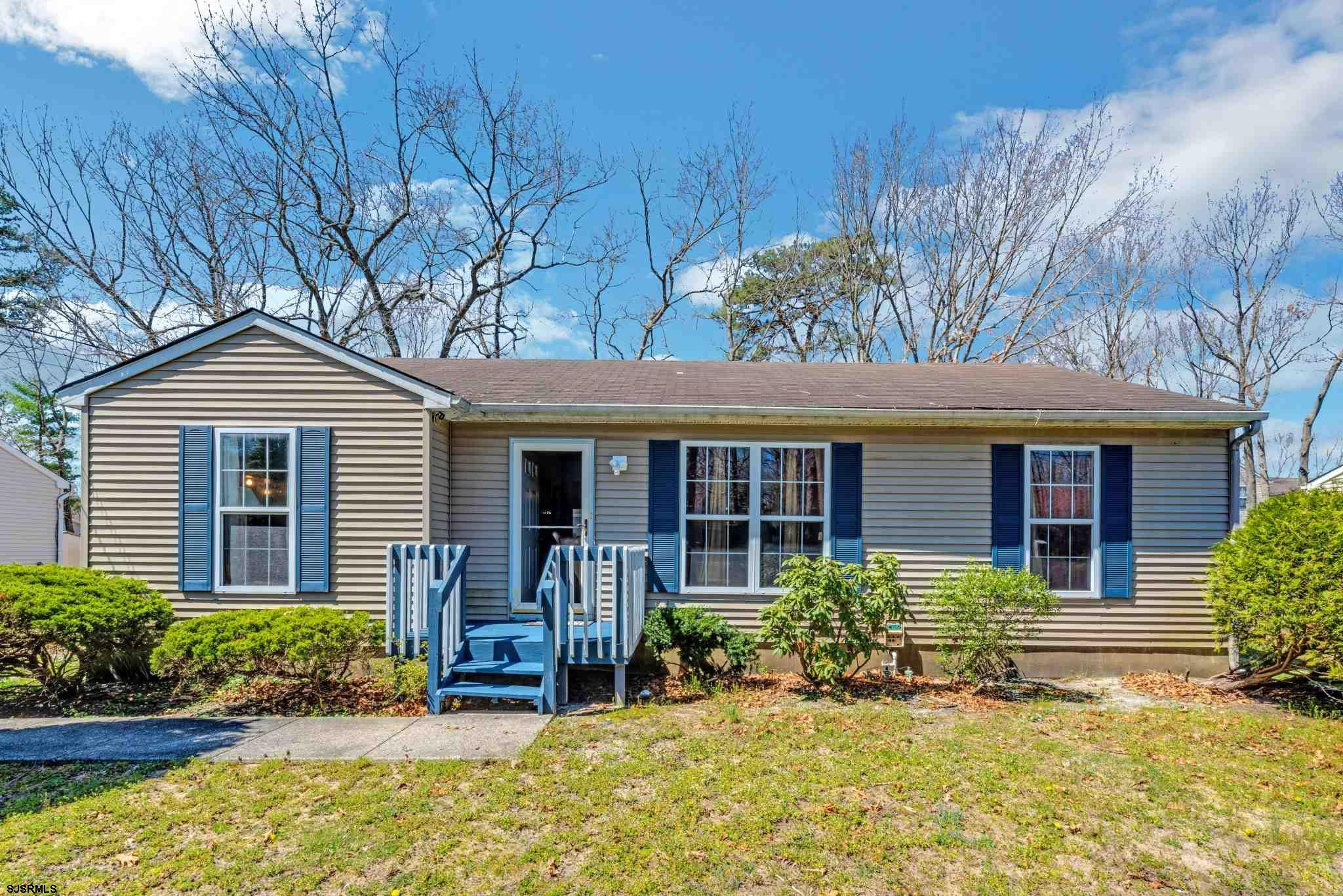 Wonderful 3 Bedroom 2 bath Ranch home in Galloway Township! This amazing property on large 75 x 125