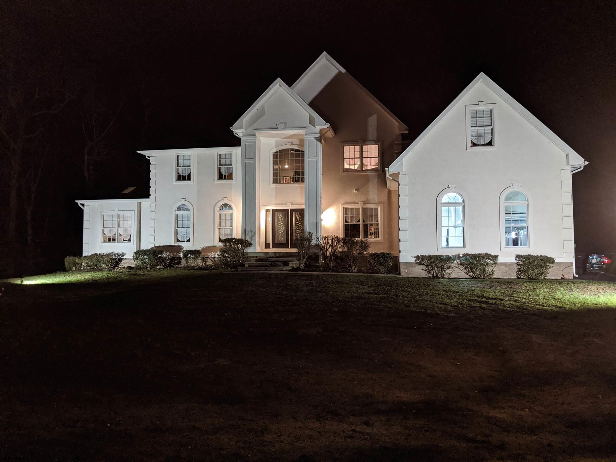 Welcome Home to a Custom Built 4,390+- sq.ft. 4 Bedroom 3.5 Baths 2 Story Home on 5 Acres of peace a
