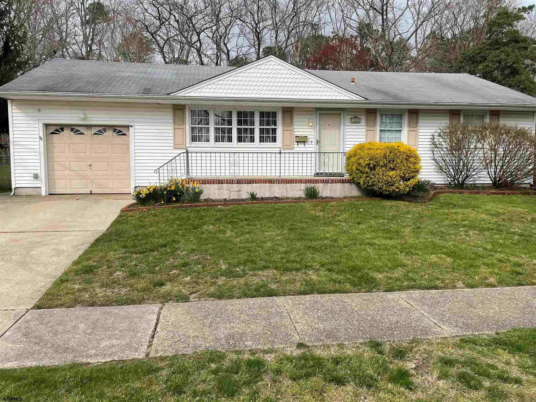Great Starter Home located on a nice residential street close to everything. This rancher features a