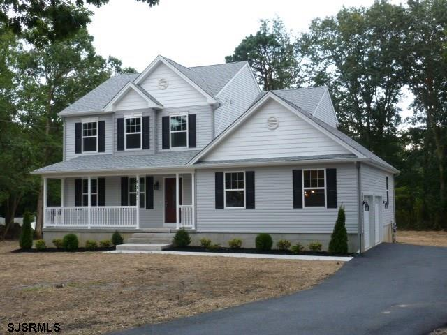 NEW CONSTRUCTION!  GORGEOUS AND SPACIOUS NEW LUXURY 4 BEDROOM AND 2.5 BATH HOME ON LARGE 2+ ACRE PRI