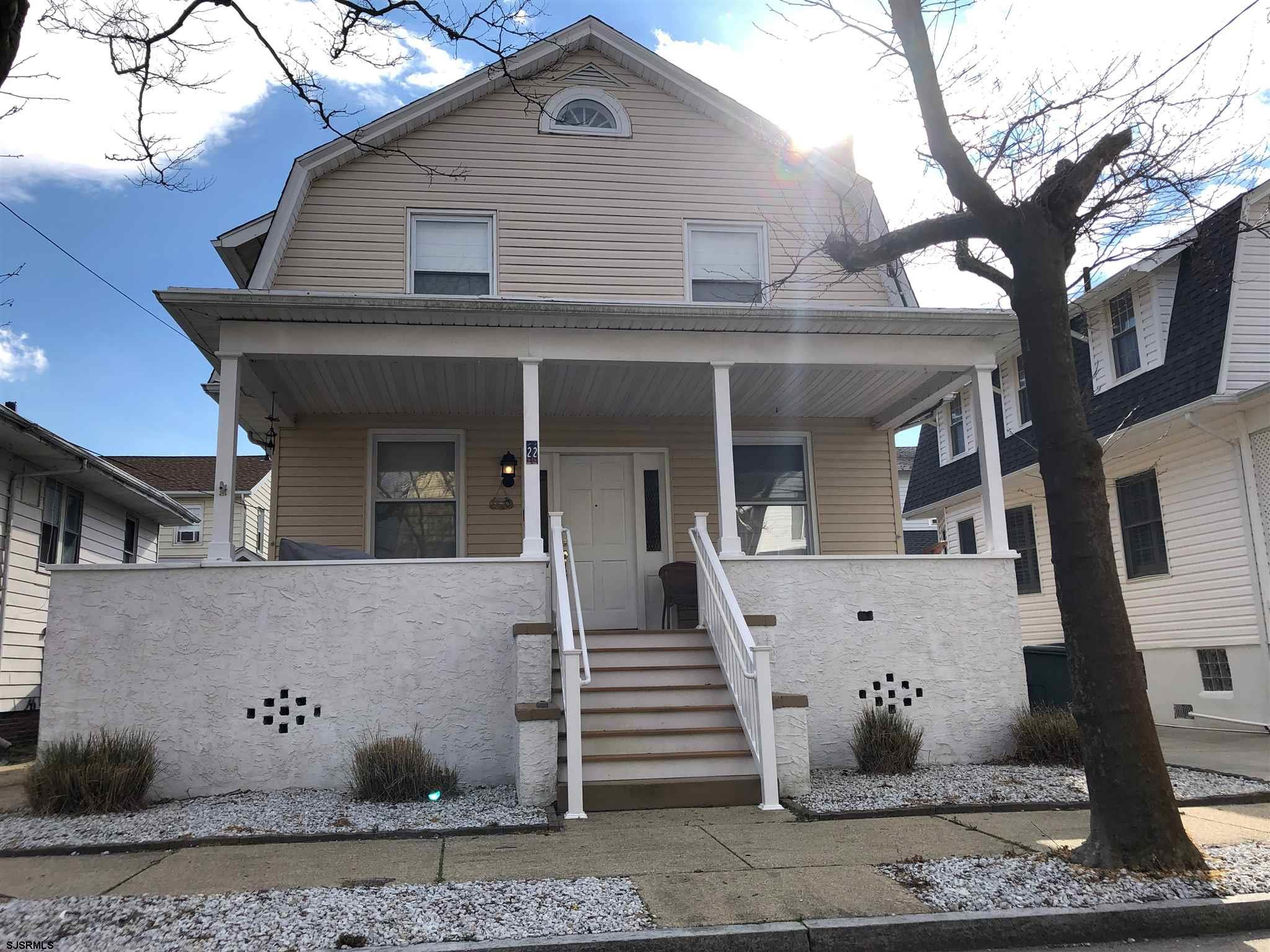Beautiful Lower Chelsea home on the Ventnor border! Hardwood floors. Large rooms. Beautiful kitchen