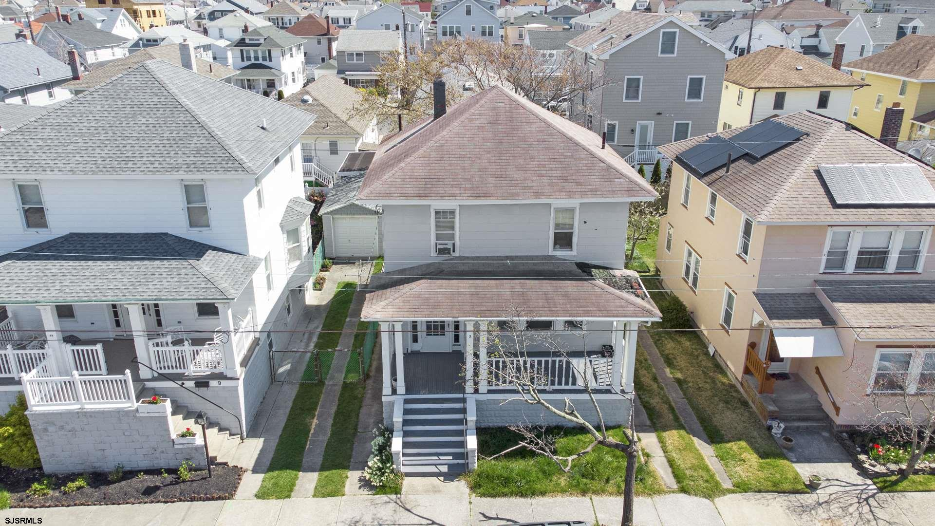 Fabulous location, 2 1/2 blocks from the beach and boardwalk. Being sold as a tear down.