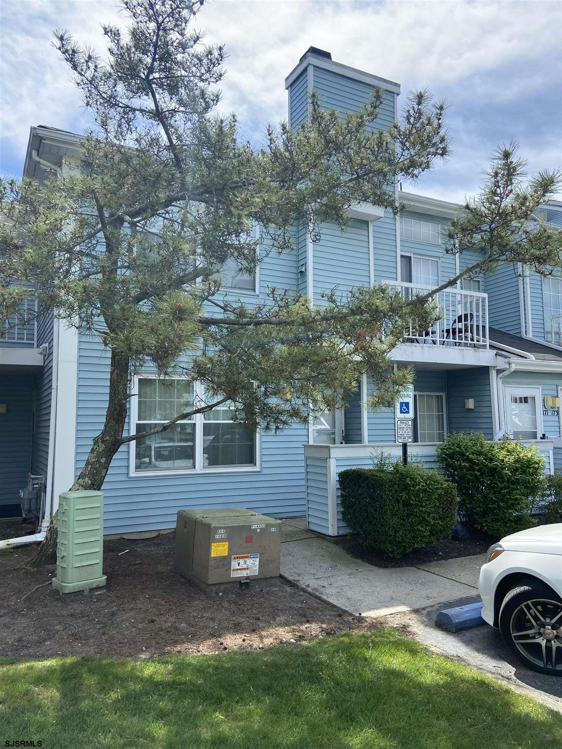 Very nice 2BR, 2 BA First Floor end unit, newer washer/dryer, Private master bath.