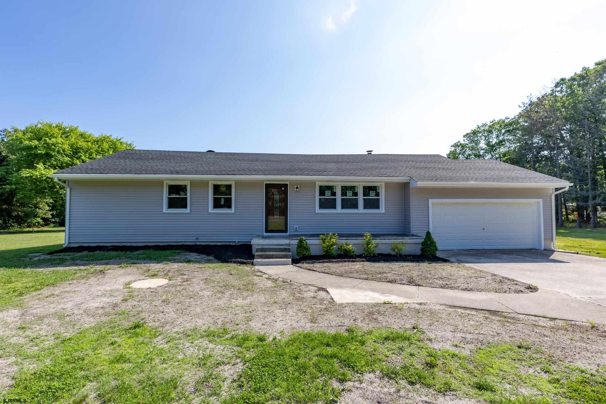 Come check out this custom large rancher located on over 1.79 acres in galloway on Jimmie Leeds Rd.